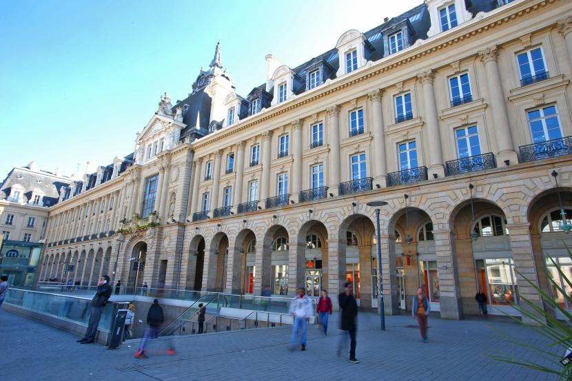 le palais du commerce